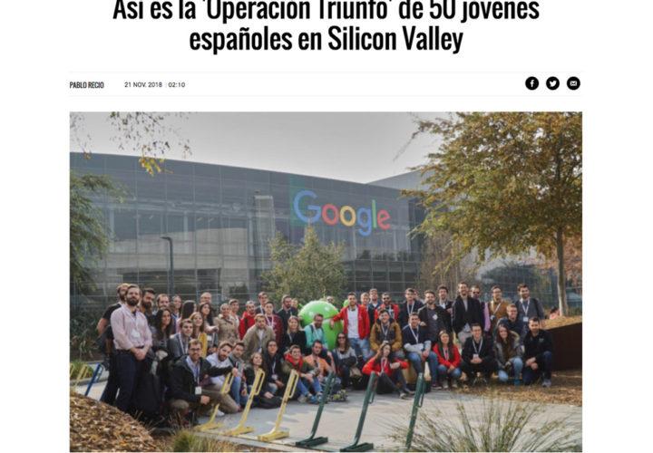 """El """"Operación Triunfo"""" en Silicon Valley de El Mundo"""